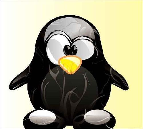 پروژه طرح پنگوئن کورل دراو Corel Draw